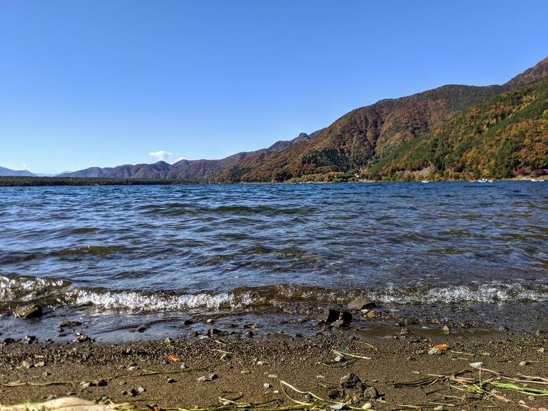 少し風が出てきた西湖