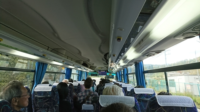 バスに乗って草津へ
