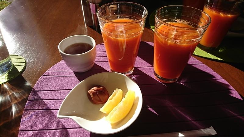 ファスティングな朝食