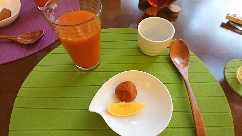ファスティング最終日の朝食