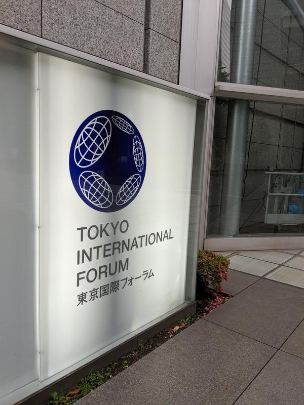 東京国際フォーラム入口