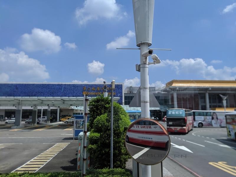 松山空港外観