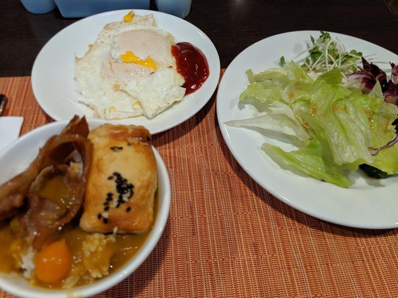 インペリアル台北の朝ごはん