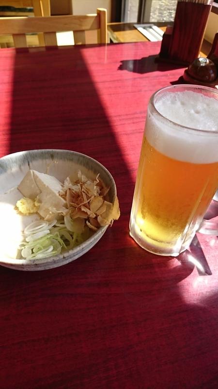 風呂上りの富士桜高原麦酒