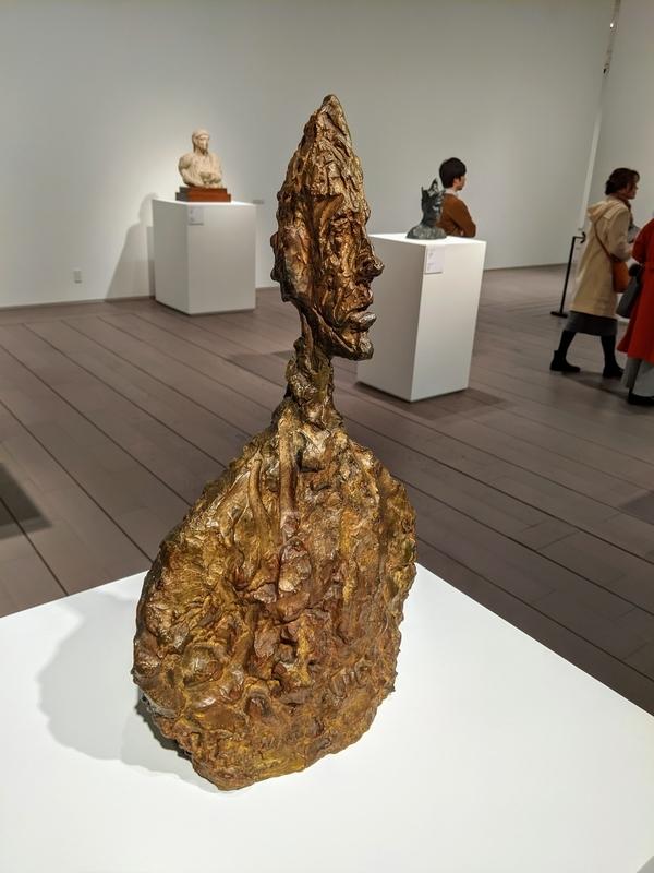 アルベルト・ジャコメッティ「ディエゴの胸像」