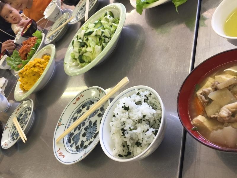 現地の方々の手料理