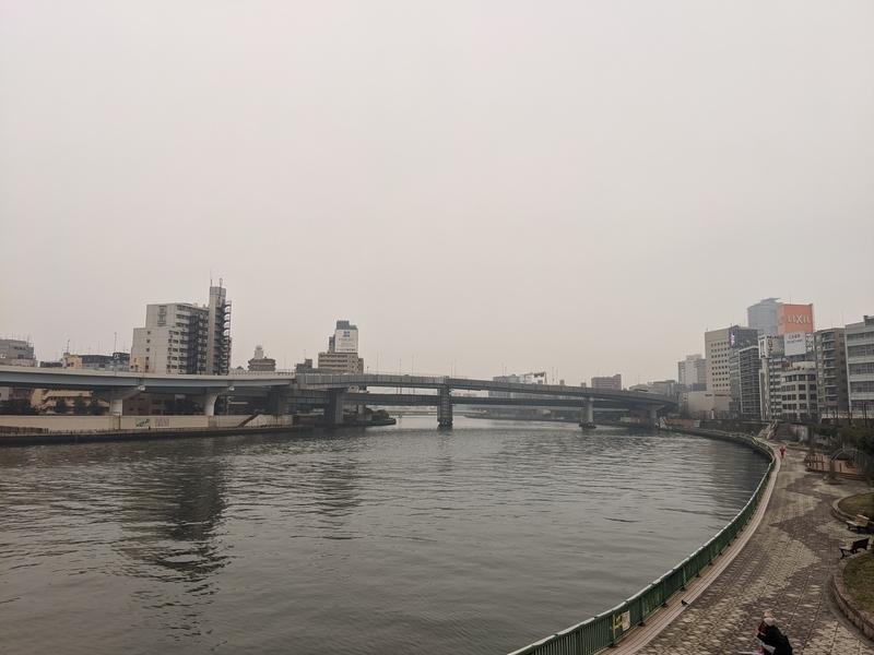 両国橋から南方向