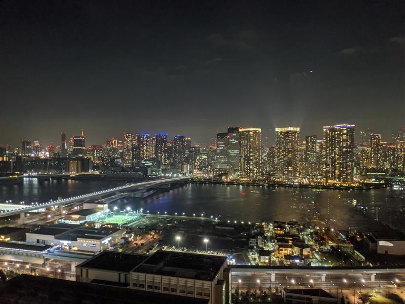 ベイズタワー&ガーデンからの夜景3