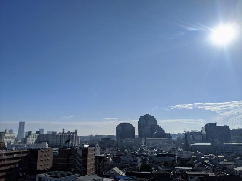 大晦日の空