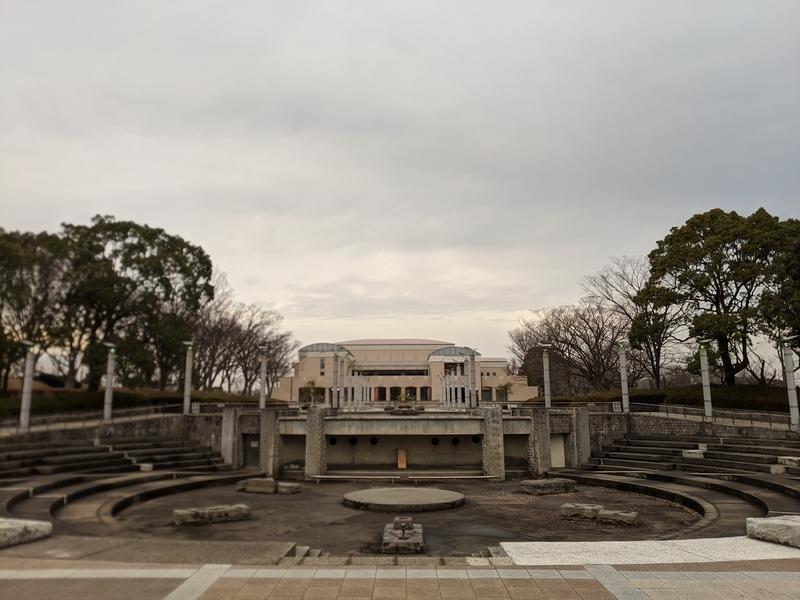 保土ヶ谷公園噴水広場