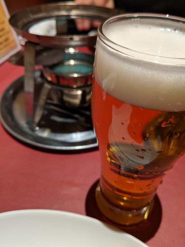 パパミラノで麦酒