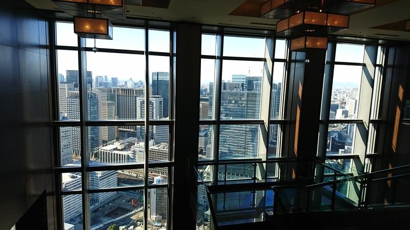 マンダリンオリエンタルホテル38階
