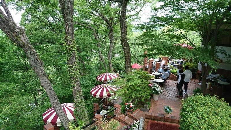 「樹ガーデン」と言うカフェテラス2
