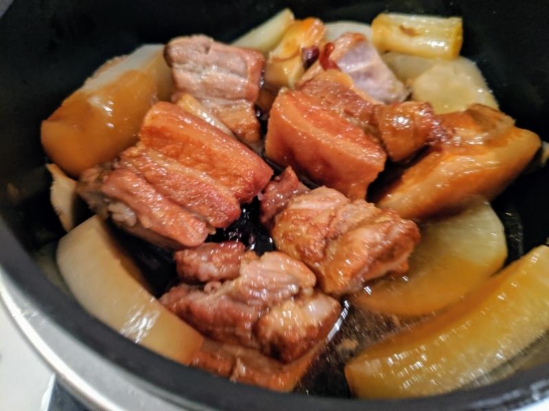 バーミキュラで豚の角煮を作る3
