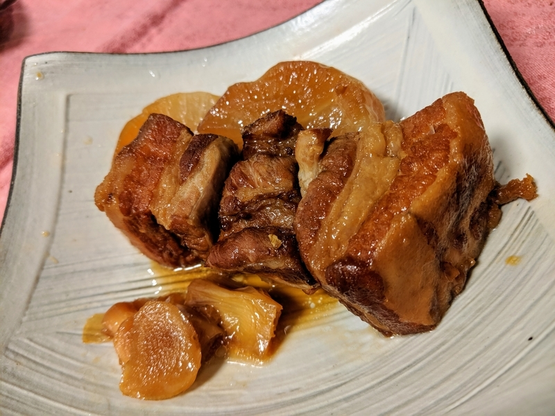 バーミキュラで豚の角煮を作った