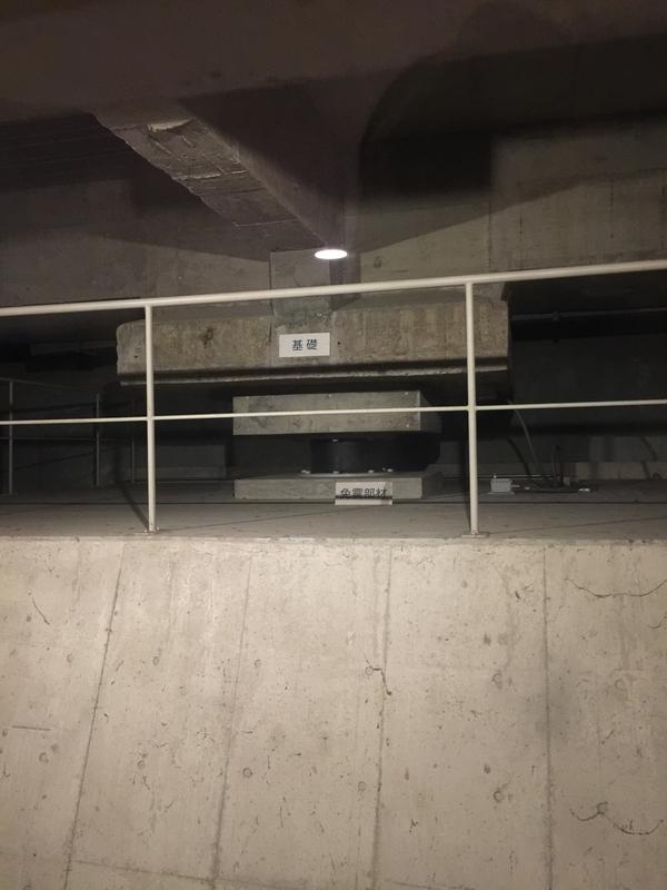 国立西洋美術館の免震装置