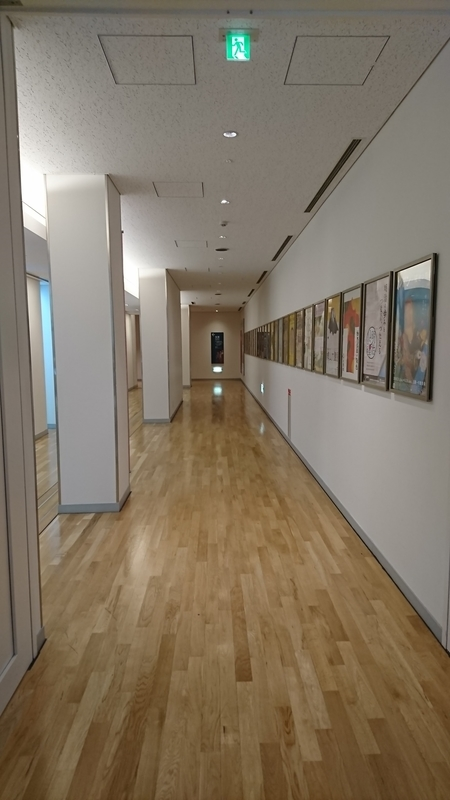 東京国立博物館の廊下