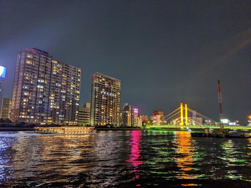夜の新大橋