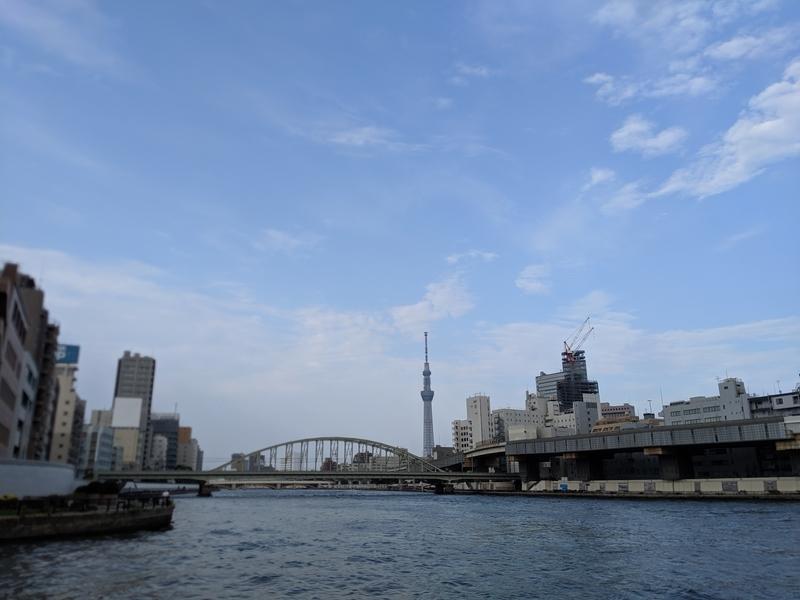 蔵前橋とスカイツリー