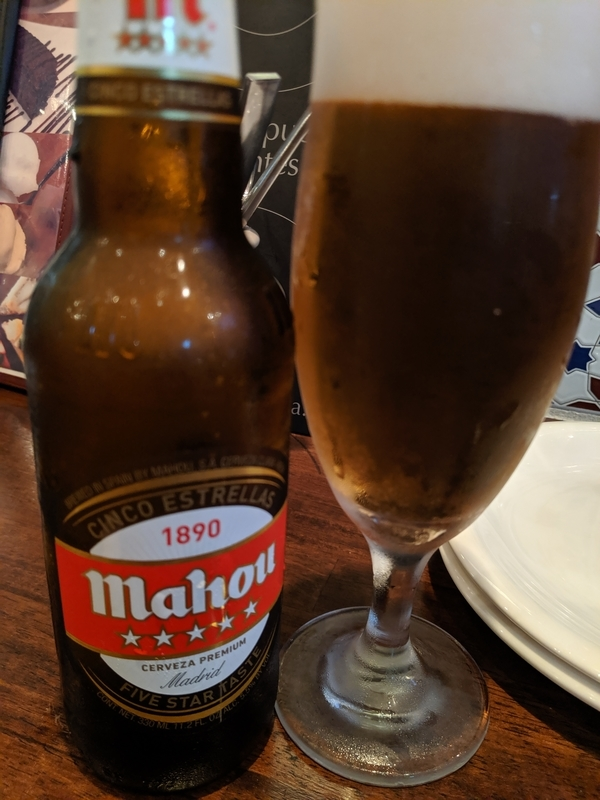 スペインビール