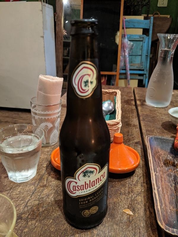 カサブランカというチュニジアビール