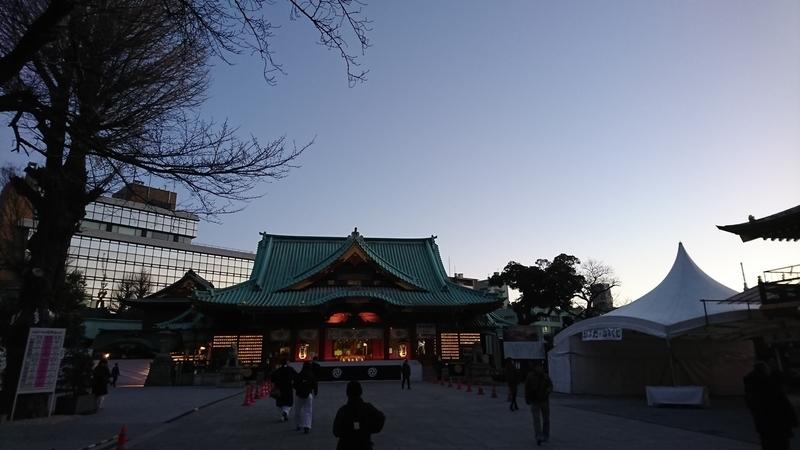 神田明神拝殿