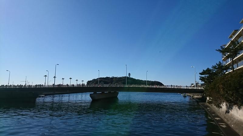 片瀬江ノ島駅から江ノ島方面