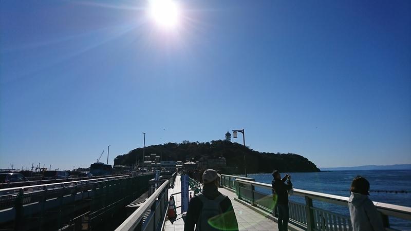 江ノ島へ向かう