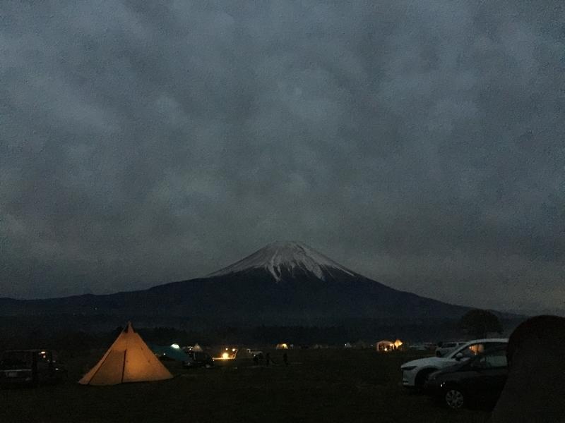 ようやく富士山と対面