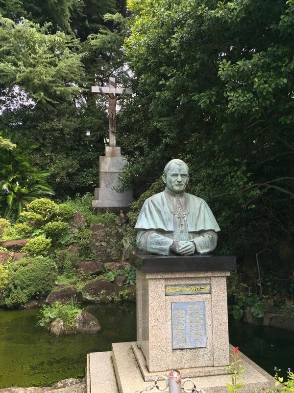 ヨハネ・パウロ二世像