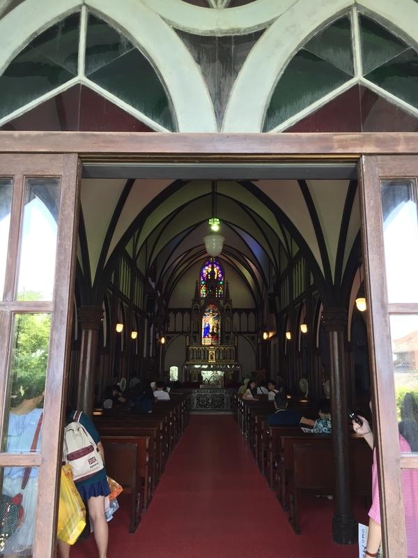 大浦天主堂内部