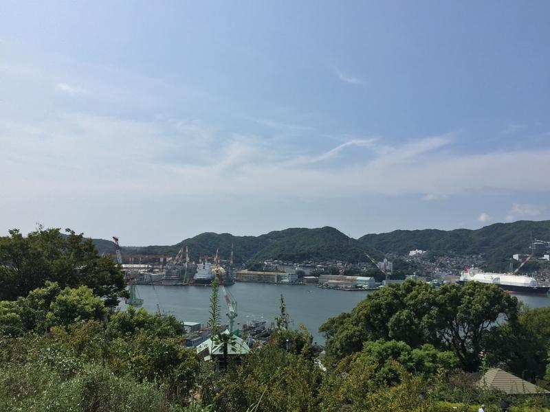 三菱重工の造船所2