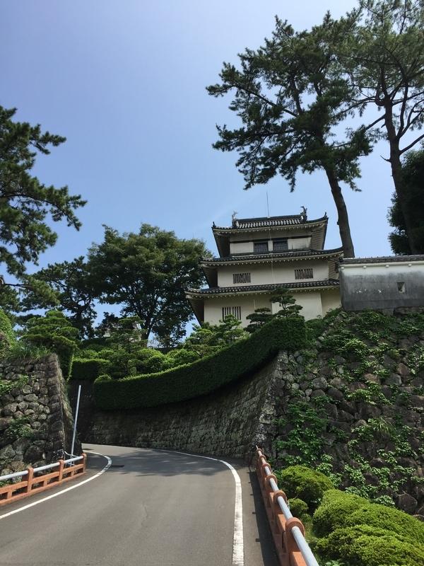 島原城への坂