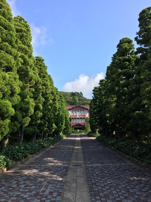 雲仙観光ホテル外観(昼)