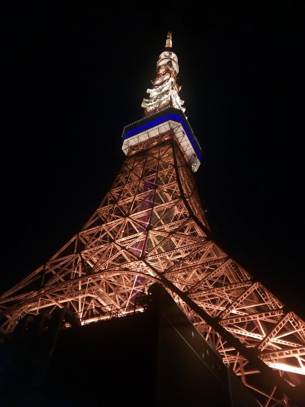 東京タワー外観(夜)