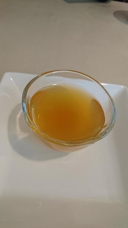 ジャスミン茶ゼリー