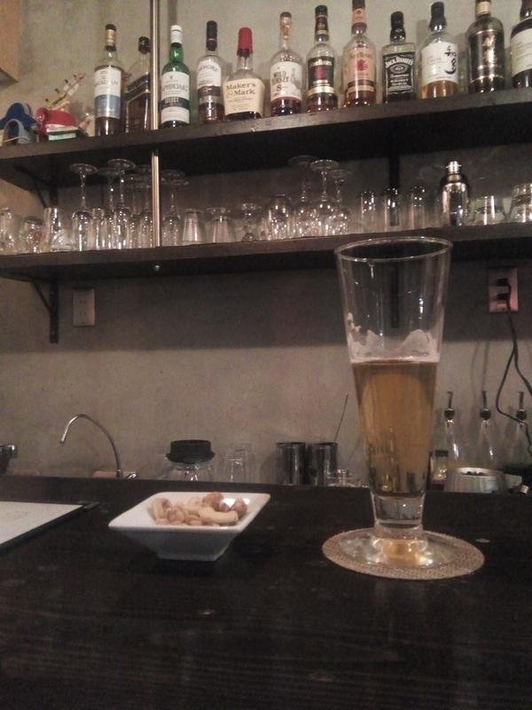 バーで一杯