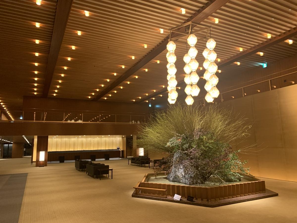 オークラホテル、オークラ東京、ロビー、エントランス