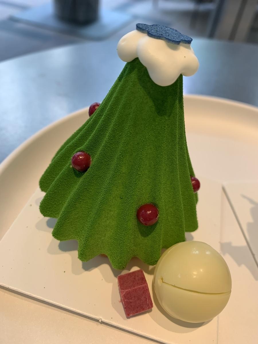マンダリンオリエンタル東京、グルメショップ、ホテルケーキ。クリスマスケーキ