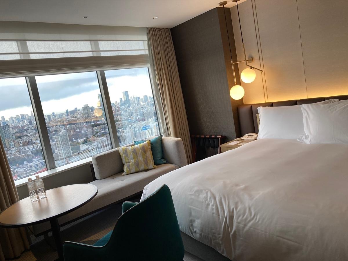 ストリングスホテル、インターコンチネンタル、部屋、ホテルライフ