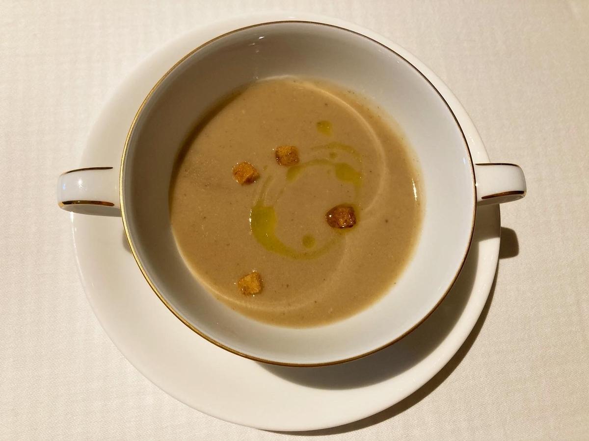 スープ、ジリオン、インターコンチネンタル東京ベイ、ホテルランチ