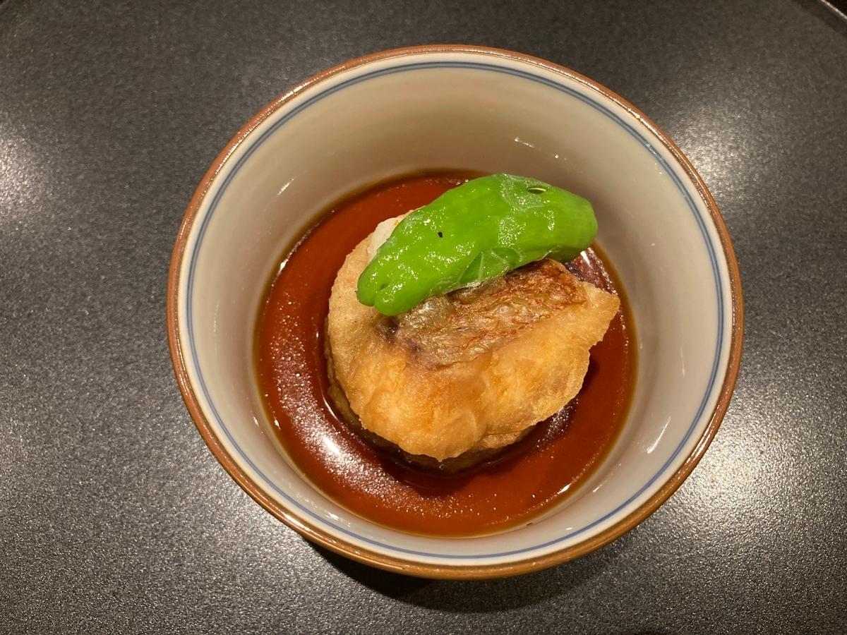 揚げ出し、日本橋浅田、加賀料理、蕎麦御膳、和食ランチ