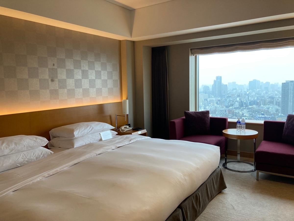セルリアンタワー東急ホテル、部屋