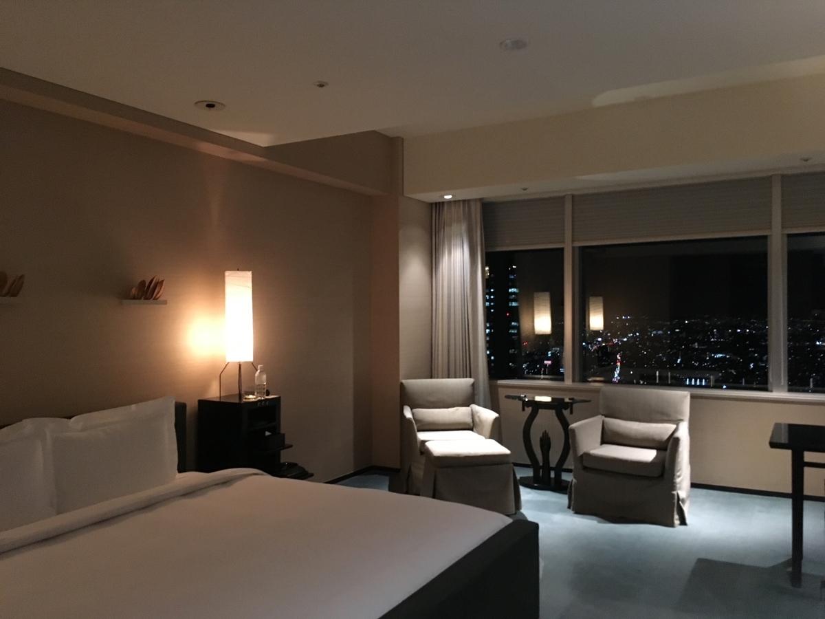 パークハイアット東京、部屋、ホテルライフ、5つ星ホテル