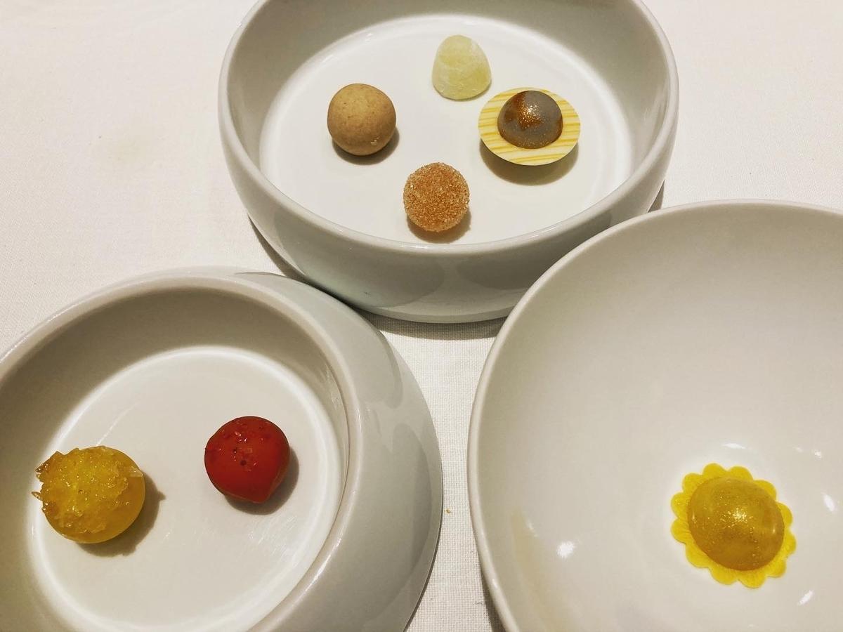 レストランサンパウ、デザート、アート、お茶菓子、1週間