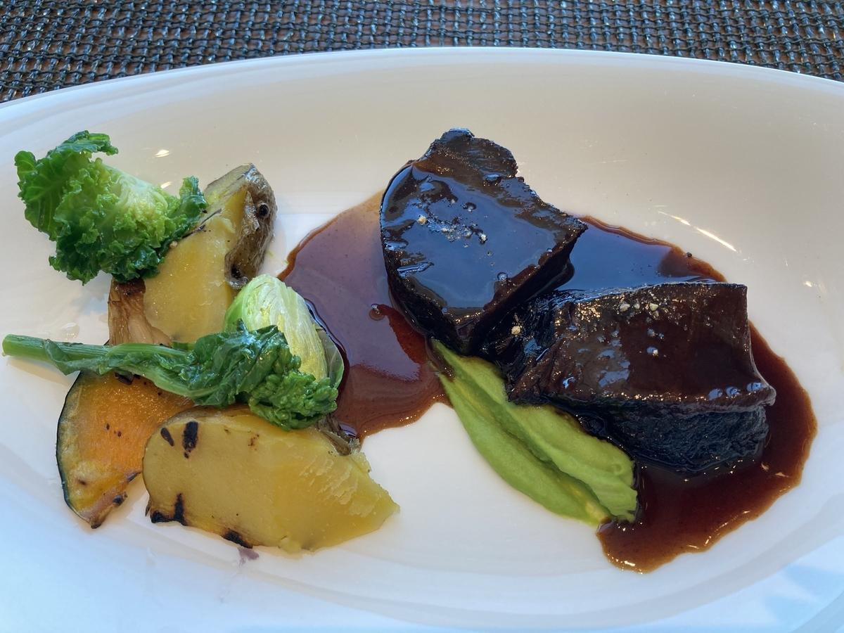 牛肉、プリンスギャラリー、オアシスガーデン、ホテルランチ