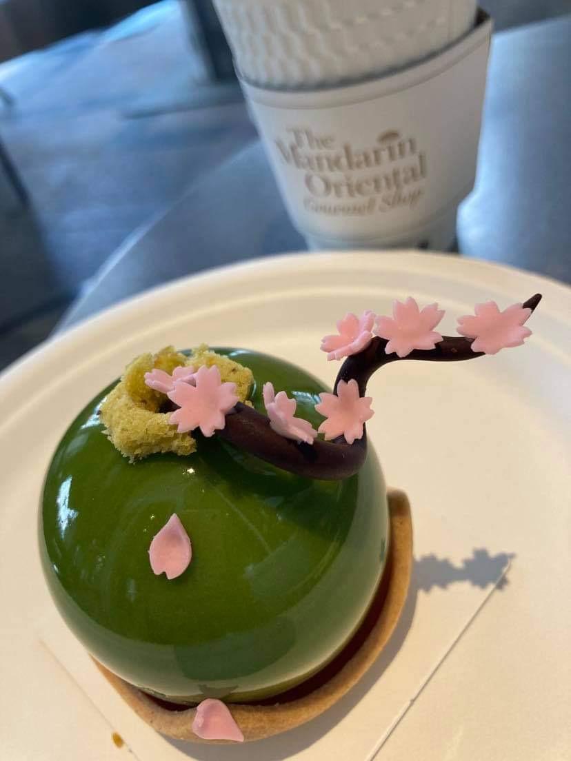 桜ケーキ、マンダリンオリエンタル、グルメショップ、ホテルケーキ