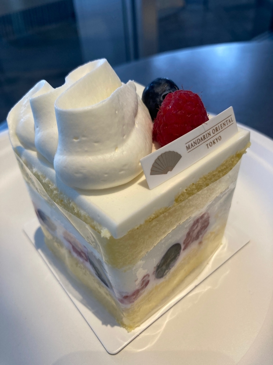 ミックスベリーショートケーキ、グルメショップ、マンダリンオリエンタル東京