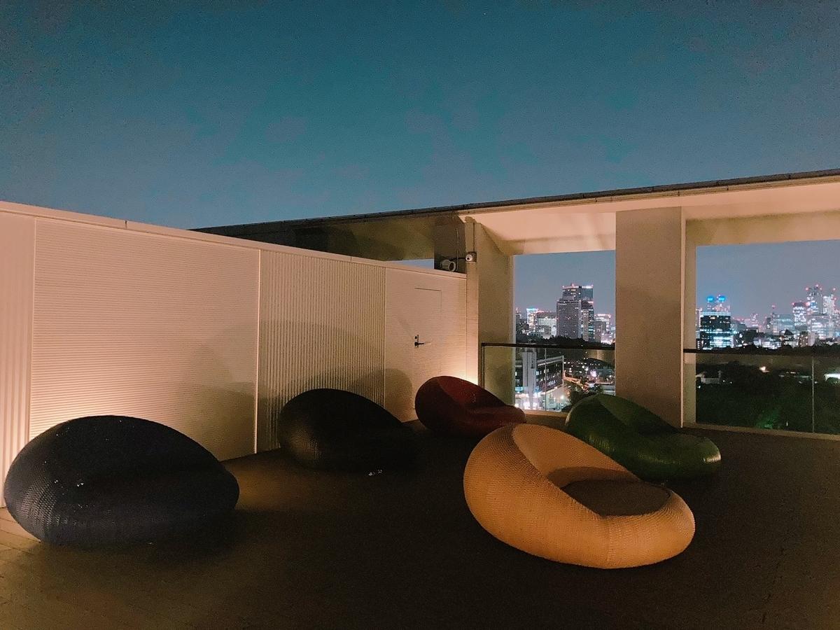 屋上、テラス、三井ガーデンホテル