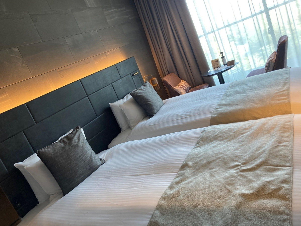 部屋、三井ガーデンホテル、神宮外苑の杜